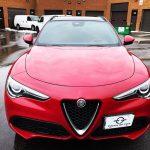 2018 Alfa Romeo Stelvio Full Front End and trunk ledge covered