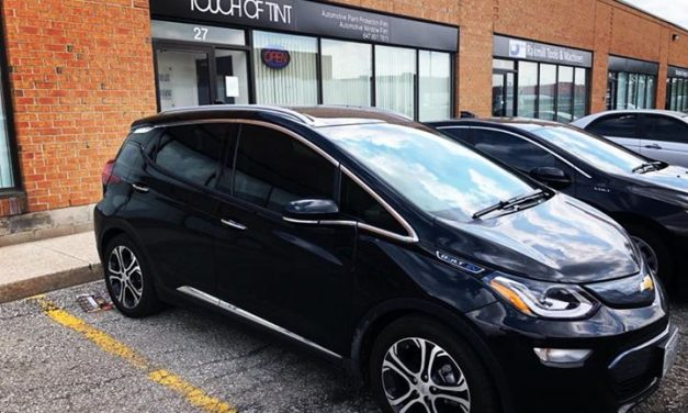 Keeping it Green at Touch of Tint 2018 Chevy Bolt EV!