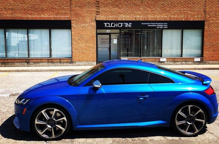 2018 Audi TT RS with Xpel Prime XR Ceramic Window Film!