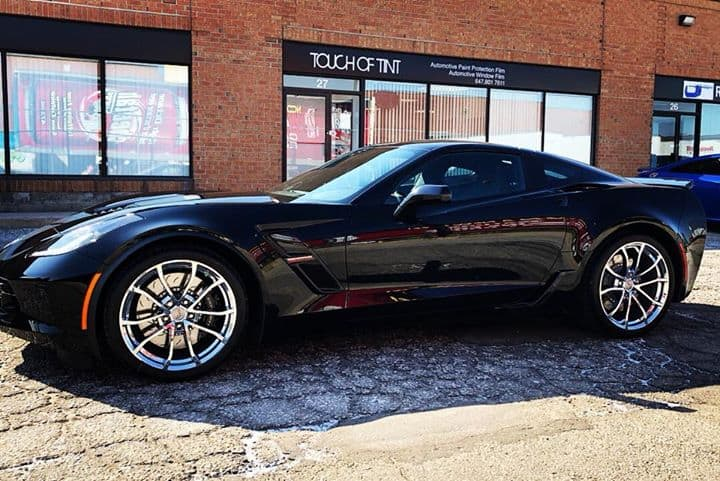 2019 Corvette Grand Sport Full Front End Covered in Xpel Ultimate Paint Protection Film  Protect your Car Today!