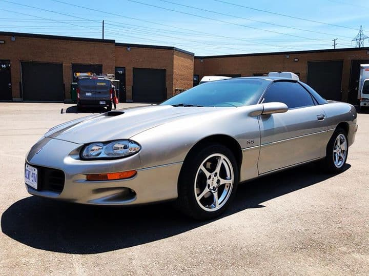 2002 Camaro SS with Prime Colour Stable Automotive Window Film!