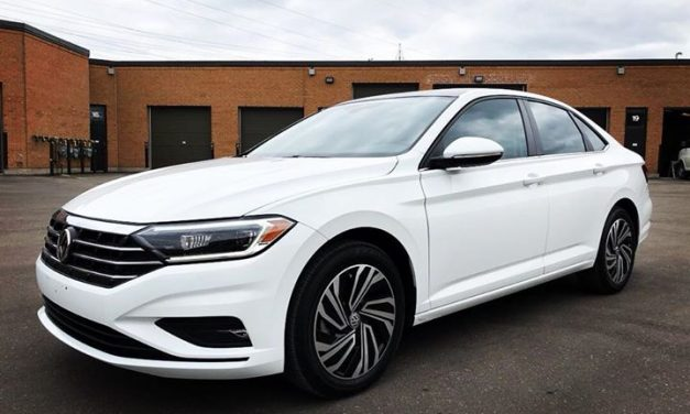 2019 Volkswagen Jetta Full Front End is Covered with Xpel Ultimate Paint Protection Film and Prime XR Ceramic Window Film!