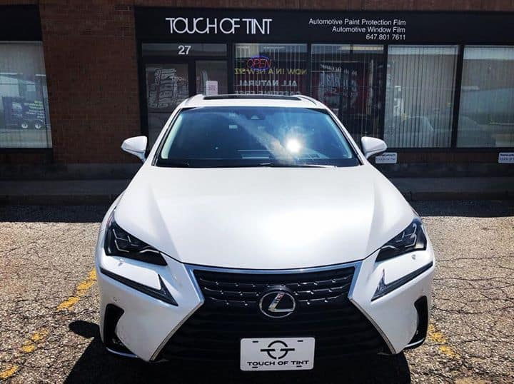 2018 Lexus NX 300 Full Front End, headlights, A-pillars and top cap