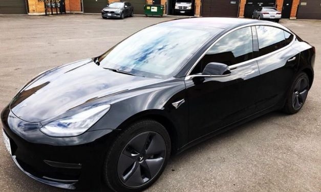 2018 Tesla Model 3  With Xpel Prime XR Ceramic Automotive Window Film