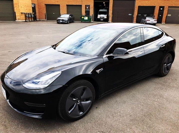 2018 Tesla Model 3  With Xpel Prime XR Ceramic Automotive Window Film